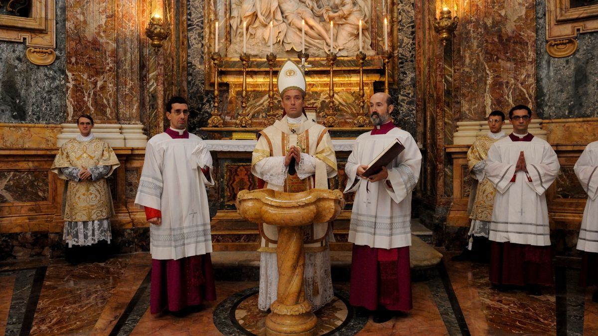 The New Pope serie HBO