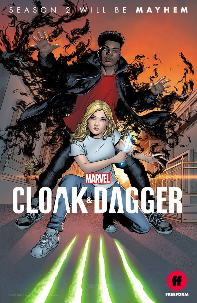 Cloak and dagger temporada 2