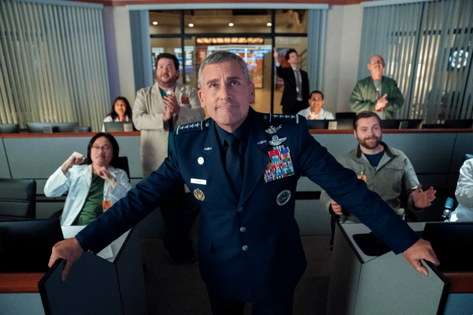 Steve Carell en Space Force